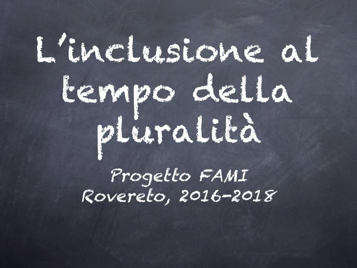 """L'inclusione al tempo della pluralità – """"Studiare in L2"""""""